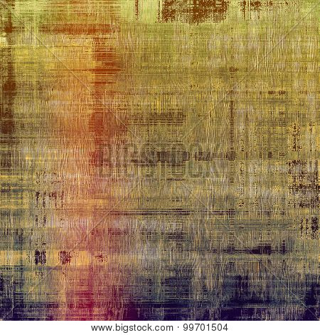 Abstract rough grunge background, colorful texture. With different color patterns: brown; green; purple (violet); pink