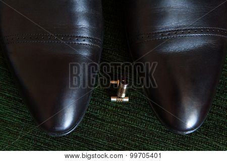 Cufflinks And Shoes