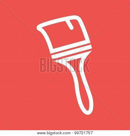 Thick Paint Brush