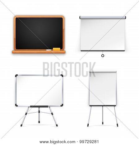 Set of Boards for Presentation