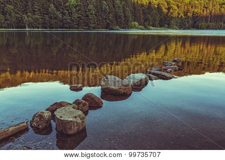 Peacefull Lake Landscape