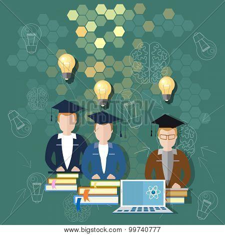 Science And Education Online Education School Board Teacher Classroom International Students