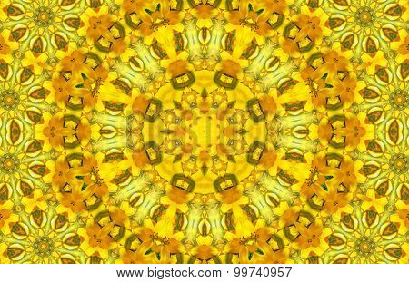 Yellow Abstract Pattern