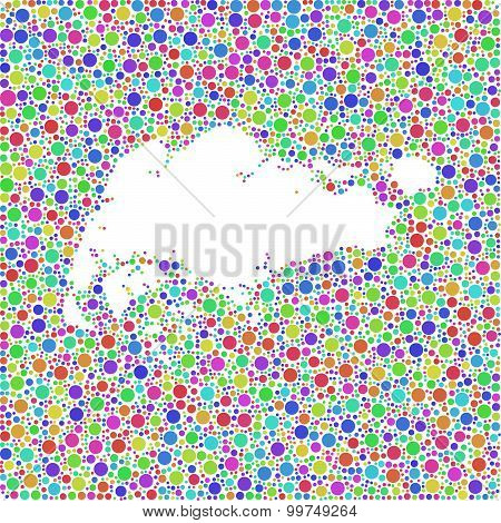 Map of Singapore - Asia -