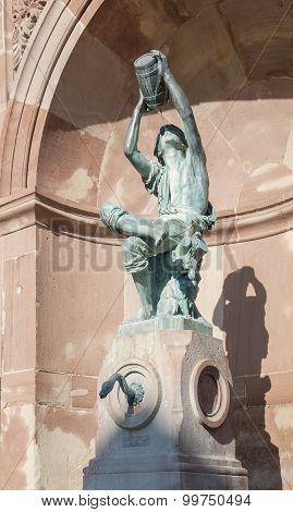 Sculpture In Colmar