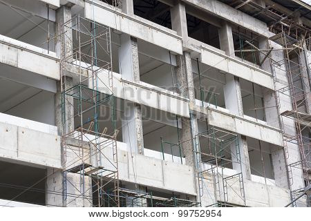 The Construction Site Building Hight Scool