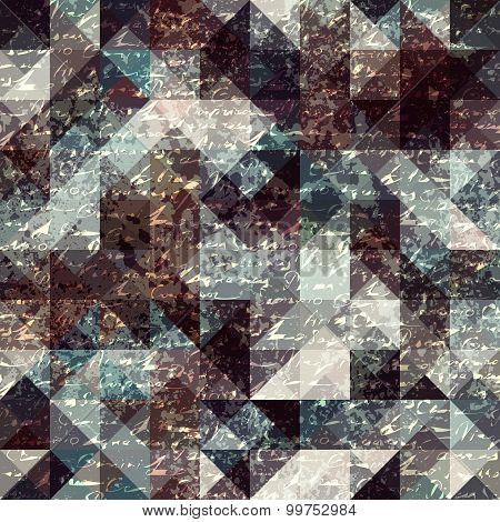 Stylization background of grunge manuscript