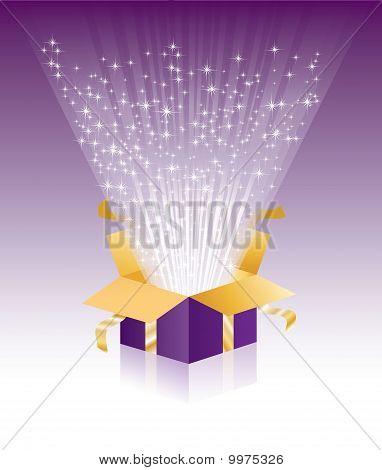 Purple Light Box