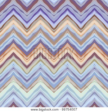 Blue wrong chevrons pattern.