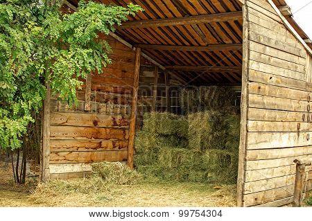Rural Italian Hayloft.
