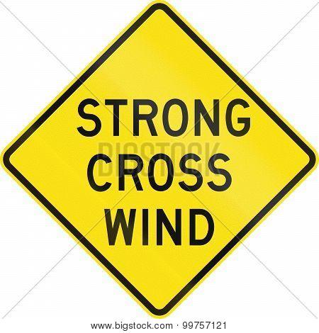 Strong Cross Wind In Australia