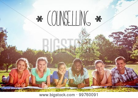 The word counselling against students studying outside on campus