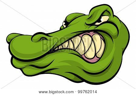 Alligator Or Crocodile Mascot