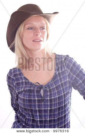 Beautiful Western Woman