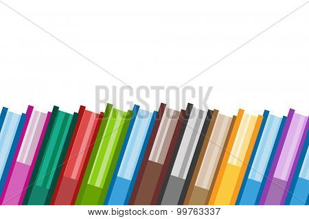 Books vector icons background. Sale background. Book logo. Book open. Back to school background. Education, university, college symbol or knowledge, books stack, publish, page paper. Book icons