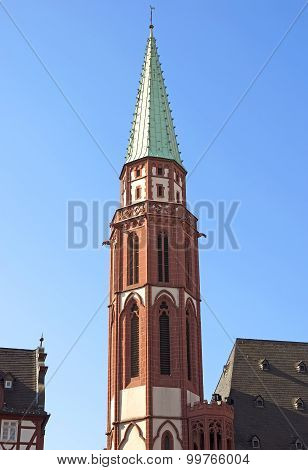 Belfry Of The Old Nicolai Church