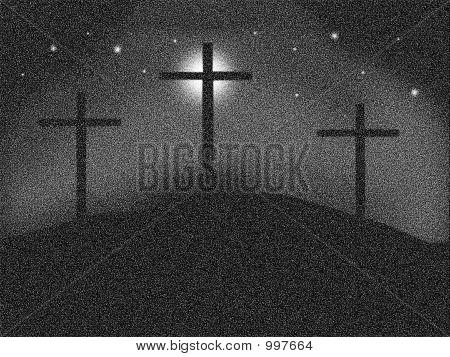 Cruces de Pointilized