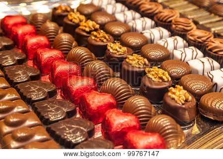 Traditional Belgian Pralines