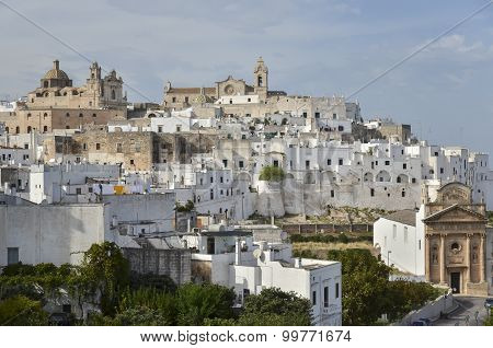 View in Ostuni,  Italy