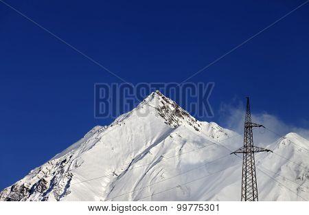 Snowy Rocks
