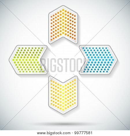 Arrow-glowing-logo-on-gradient-background-card