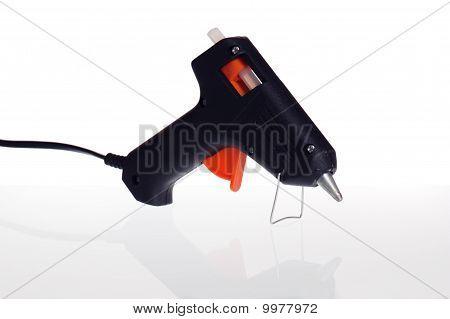 Hot Glue Pistol Isolated On White Background