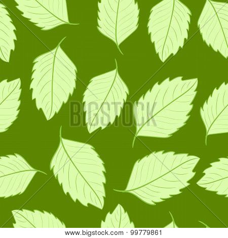 Seamless sharp leaves