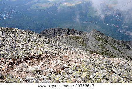 Mountain High Tatras Slavkovsky Peak, Slovakia, Europe