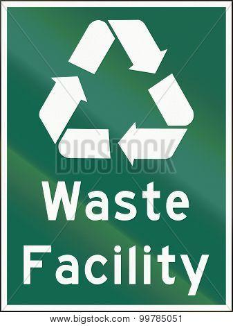 Waste Facility In Canada