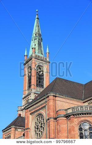 Dusseldorf Protestant Church