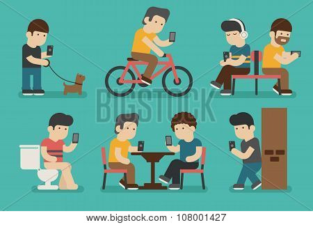 Internet And Smartphone Addiction