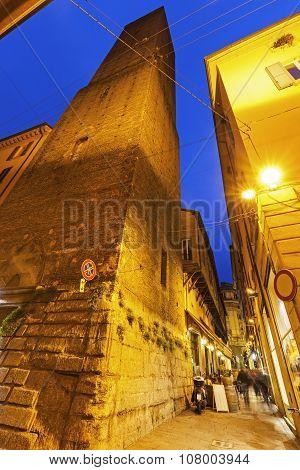 Azzoguidi Tower In Bologna
