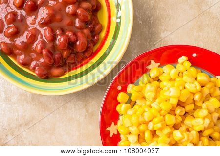 Sweet Corn And Red Beans