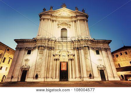 New Cathedral In Brescia