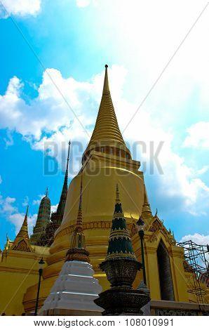 Golden Stupa. Wat Phra Kaew
