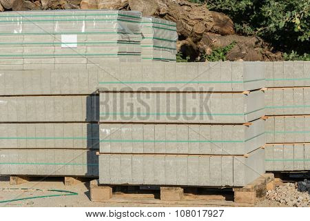 Stack Of Paving Stones