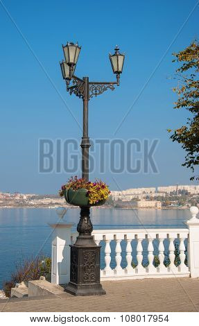 On the waterfront of Sevastopol