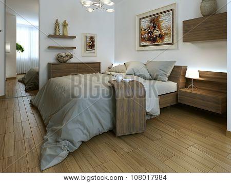 Bedroom High-tech Interior