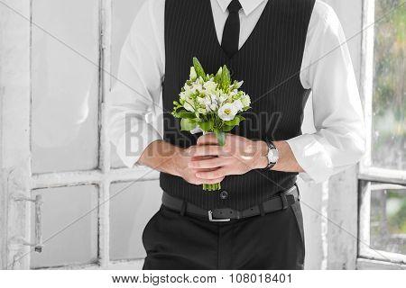 Groom In  Wedding Day