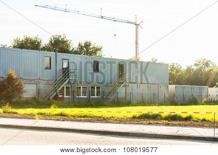 Construction Residential Containers Settlement