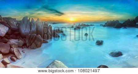 Ke Ga sea sunrise, Binh Thuan