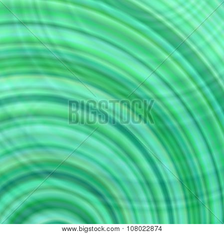 Green abstract concentric circle design background