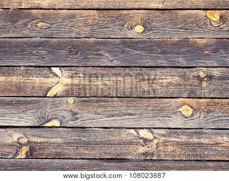 Dark Grey Logs With Bright Knots