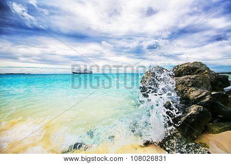Beautiful Caribbean View.