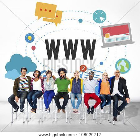 WWW Web Internet Online Connection Concept