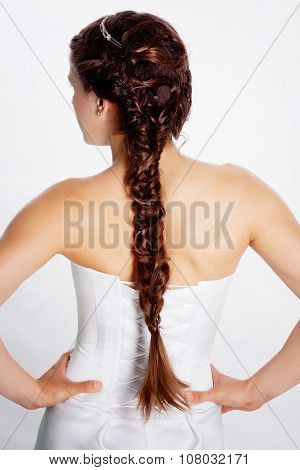Bride hairstyle photo