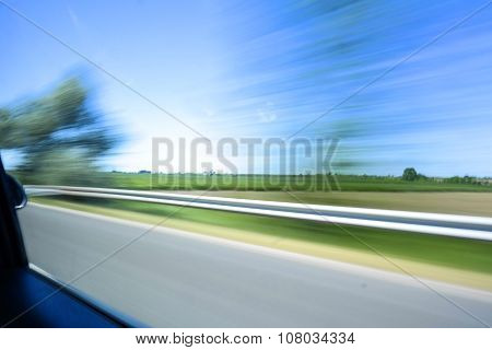 Blurred Highway