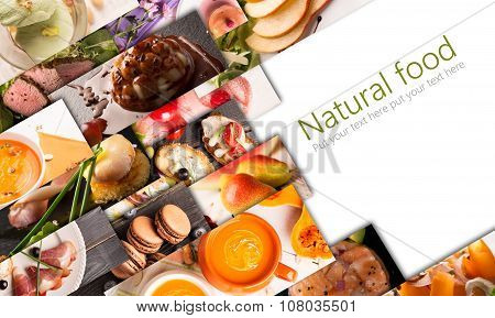 Food Photo Collage