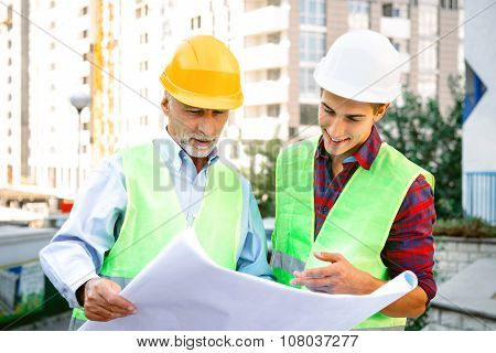 Concept for professional contractors or architects