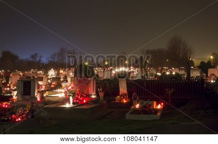 Night Cemetery